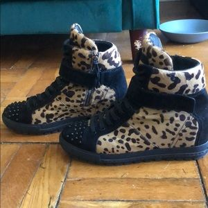 Miu Miu Ponyhair Sneakers size 41 LEOPARD!!